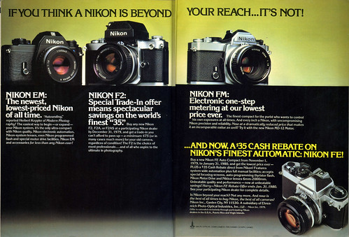 If you think a Nikon is beyond your reach... it's not! 1979