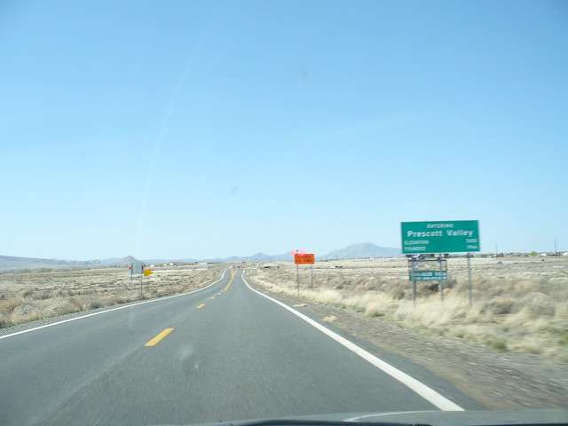 az 89a southbound in yavapai county entering prescott valley flickr photo sharing. Black Bedroom Furniture Sets. Home Design Ideas