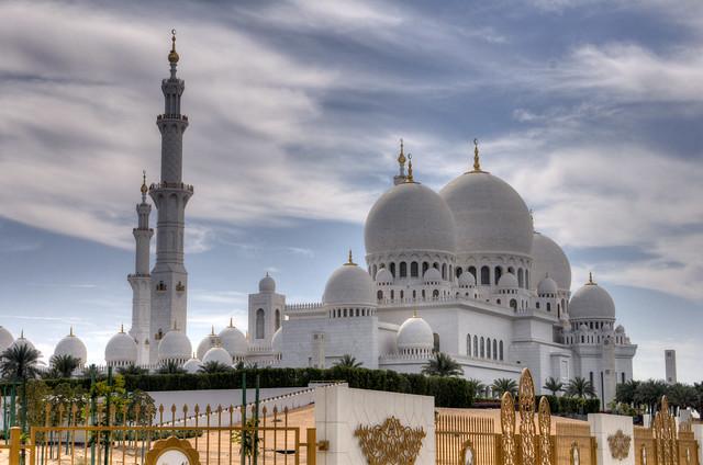 La espectacular Mezquita Sheikh Zayed en Abu Dabi 5586005193_1801a602a2_z