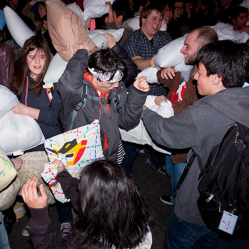 Pillow Fight Toronto 2011