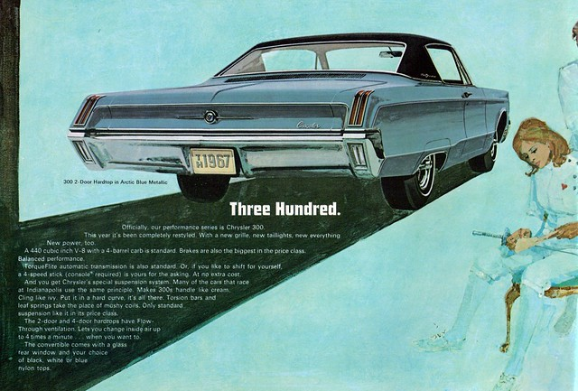 1967 Chrysler 300 2 Door Hardtop