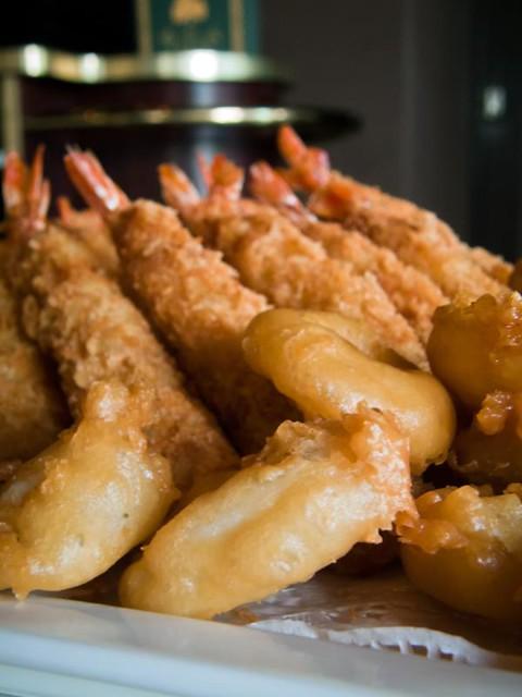 Ebi Tempura + Calamari Rings   Flickr - Photo Sharing!