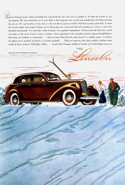 1937 Lincoln Two-Window Berline by Judkins