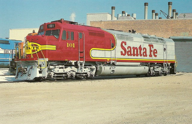 Atsf0004 the famous passenger train heritage lives on for Electro motive division of general motors