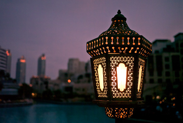 Lamp Post, Souk al Bahar Passage