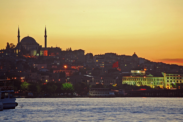 Istanbul by CC user 94215313@N00 on Flickr