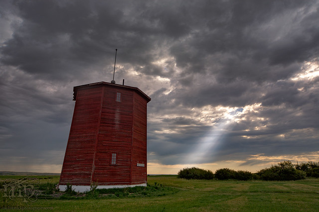 CN Water Tower, New Brigden [1 of 2]