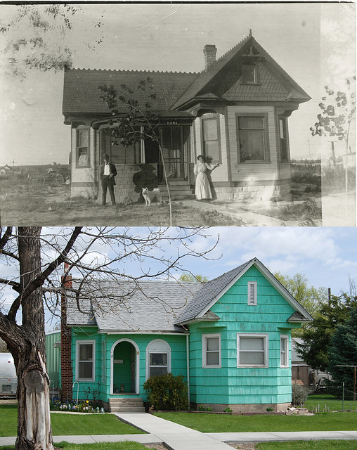 Caldwell House, Then & Now