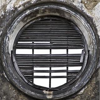 Window derelict building