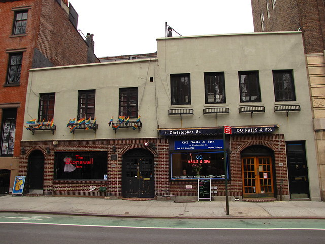 Stonewall Inn historic site of gay rights movement