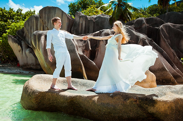 Seychelles LaDigie wedding photography