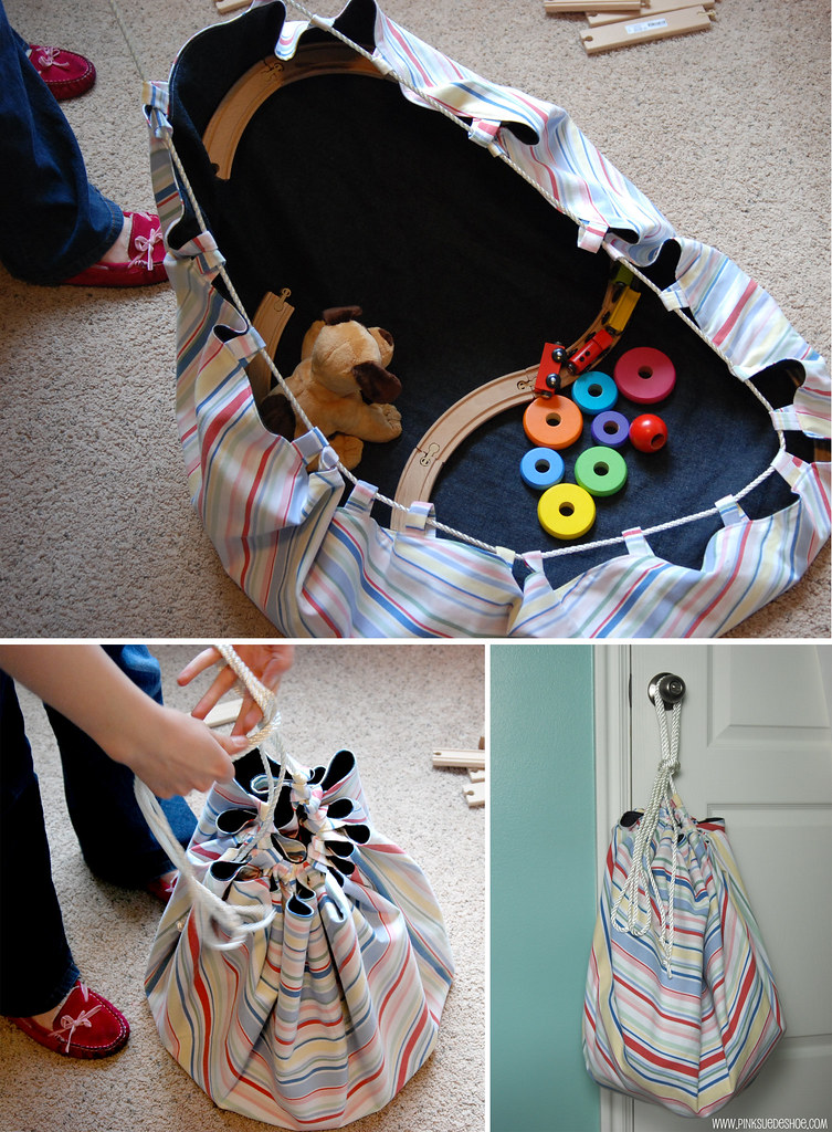 Sack Of Toys : Toy sack tutorial pinksuedeshoe