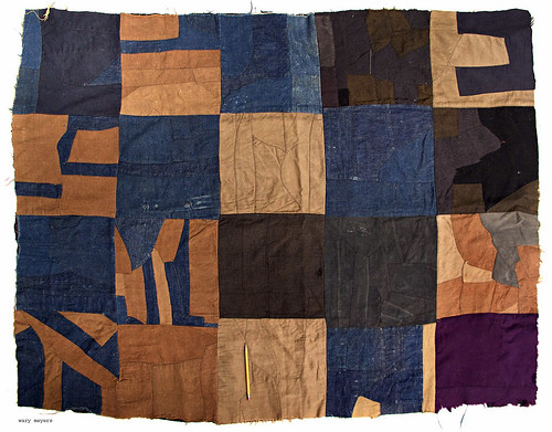 1930's modernist crazy quilt full