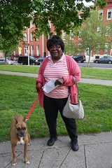 Resident of Lafayette Square at the West Baltimore Squares Spring Celebration