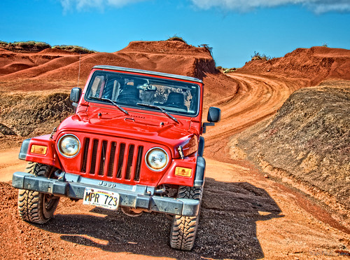 Off-Roading in Lanai