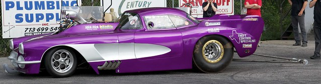 Purple Corvette