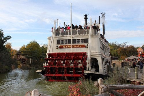The Mark Twain on the Rivers of the Far West