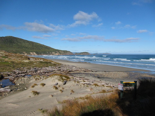 Little Hellfire Beach, North West Circuit, Stewart Island, New Zealand