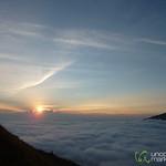 Sunrise from Mt. Batur - Bali, Indonesia