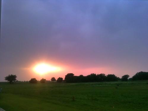 sunset oklahoma iphone 2011 cloudsstormssunsetssunrises