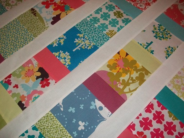 CHARM SQUARES BABY QUILT Flickr - Photo Sharing!