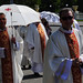 Procession of Body of Christ. Fr. Michał Sapiel, Bishop Jury Kasabucki