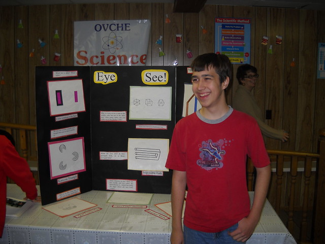 optical illusion science fair projects