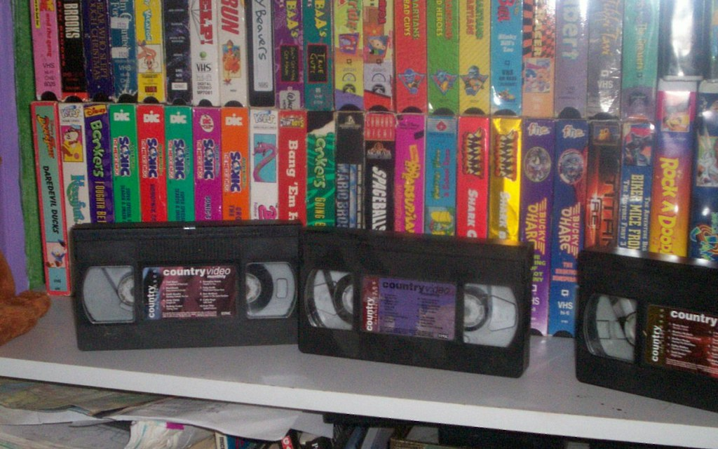 vhs collection a photo on flickriver
