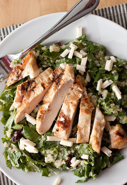 ... and Quinoa Salad with Maple Dijon Grilled Chicken | Smells Like Home