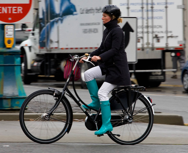 these boots were made for cycling
