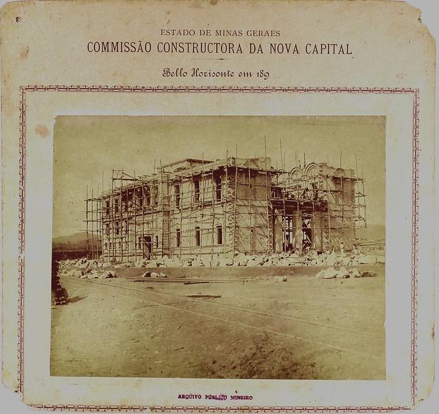 Palácio da Liberdade - construção