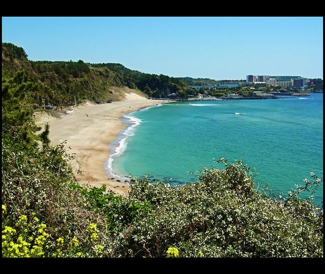 Jeju Island Beaches: Wonderful Moments Of Sunshine // Jungmun Beach // Jeju-do