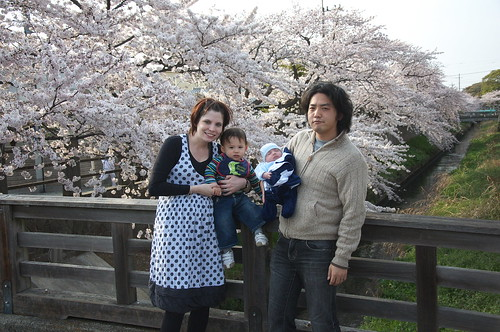 Hanami near the in-laws