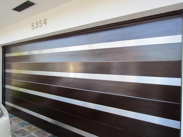 Contemporary Wood Garage Door | Flickr - Photo Sharing!