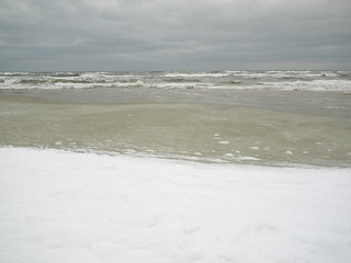 Εικόνα από Plaża B. schnee winter geotagged poland polska polen pommern swow geo:lat=54765692 geo:lon=17532151