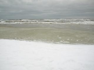 Plaża B 의 이미지. schnee winter geotagged poland polska polen pommern swow geo:lat=54765692 geo:lon=17532151