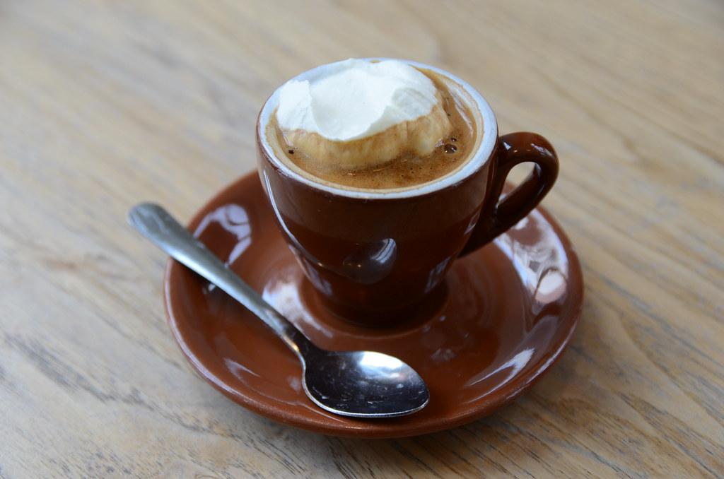 Espresso Con Panna with Salted Whip Cream @ Blue Bottle ...