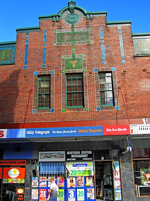Brennan building from wilson street the big b for Newtown builders