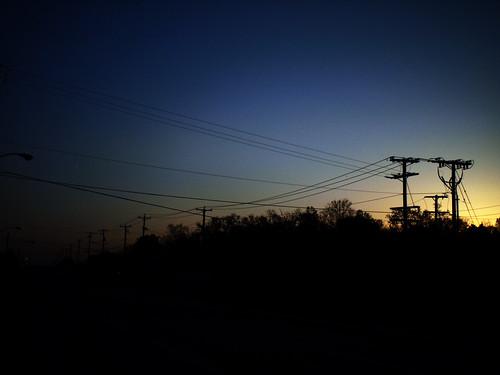 sunset copyright landscape virginia powerlines telephonepoles allrightsreserved roanokeva williamsonroad route11 legacylens legacyglass ezuiko25mmf4 penfm43adapter ©daveelmore
