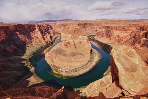Horseshoe Bend in HDR