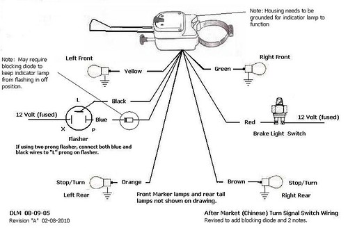 TheSamba HBB OffRoad View topic Turn Signals – Universal Turn Signal Wiring Diagram