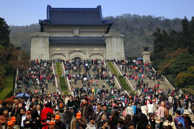 Dr Sun Yat Sen's Mausoleum by CC user triplefivechina on Flickr