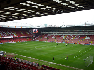 Bramall Lane - Sheffield United FC, Sheffield 23 April 2011