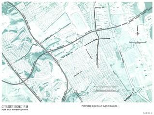 Proposed Highway Improvements (around Interstate 380, 1962)