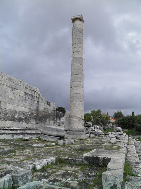 Ruins outside the south wall, Apollo Temple, Didyma