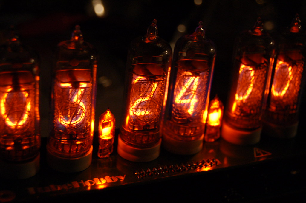 Nixie Clock Kit | Josh & Karen Tanenbaum | Flickr