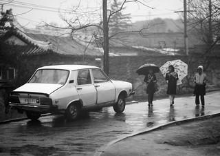 R12 on Rainy day in Pyongyang - North Korea