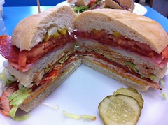 blt, sandwich, meal, lunch, breakfast, chivito, ham and cheese sandwich, muffuletta, ciabatta, meat, food, dish, cuisine,