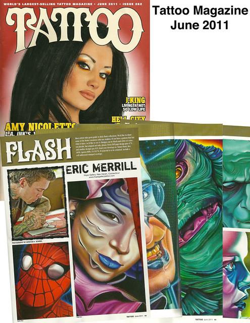 Tattoo Magazine - June 2011