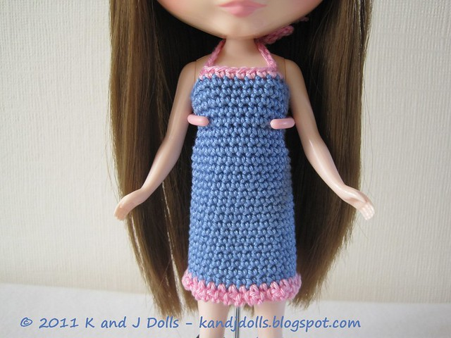 Ravelry: Fishnet Lace Blythe Dress pattern by Blythe Princess Designs